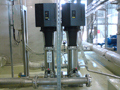 Automatic pressure stations